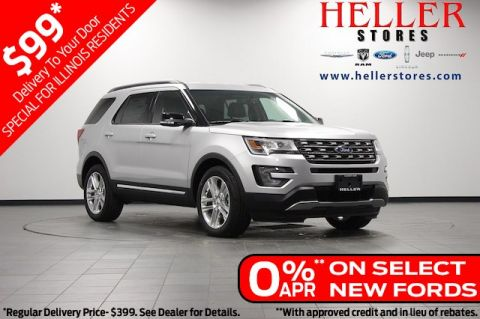 New 2017 Ford Explorer XLT FWD SUV