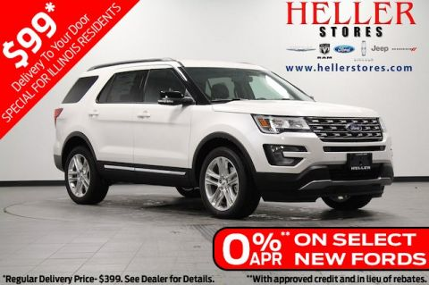 New 2017 Ford Explorer XLT 4WD