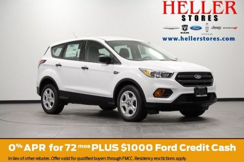 New 2017 Ford Escape S FWD Sport Utility