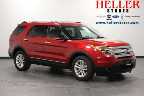 Pre-Owned 2012 Ford Explorer XLT FWD Sport Utility