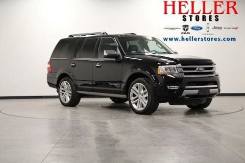 Pre-Owned 2017 Ford Expedition Platinum With Navigation & 4WD