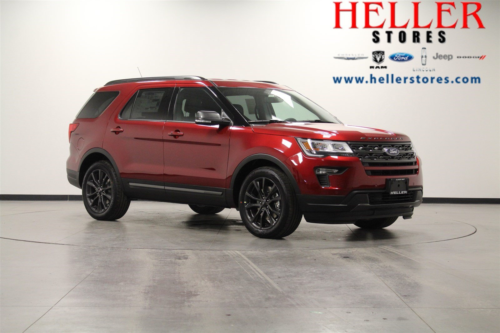 Heller Ford El Paso Il >> New 2018 Ford Explorer XLT SUV in El Paso #1800152 | Heller Ford