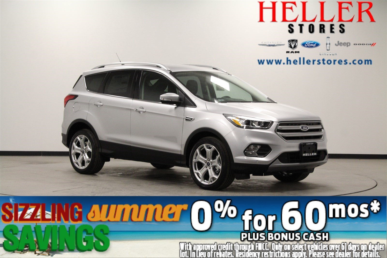 Ford Escape Titanium >> New 2019 Ford Escape Titanium In El Paso 1900225 Heller Ford