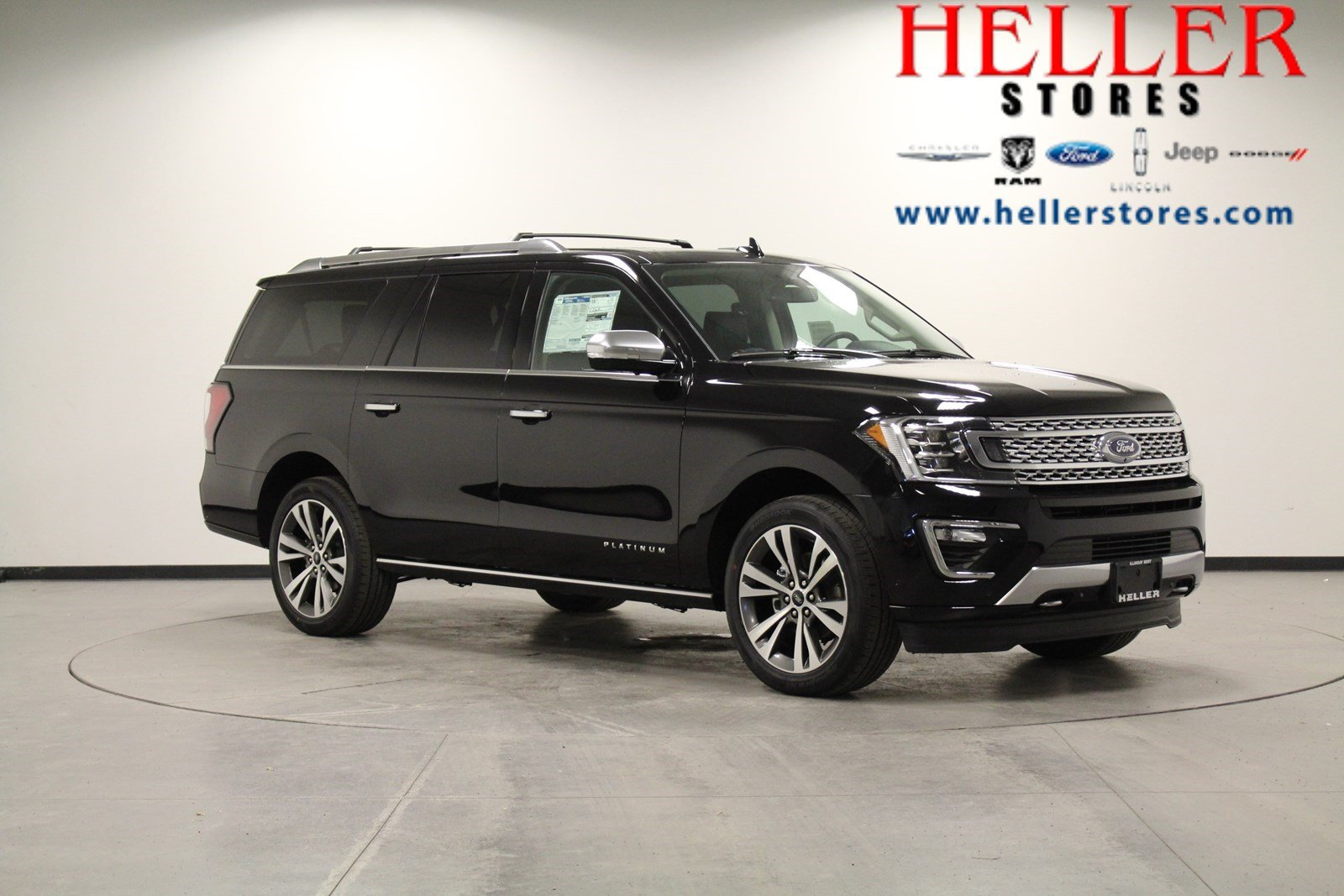 New 2020 Ford Expedition Max Platinum 4wd Suv
