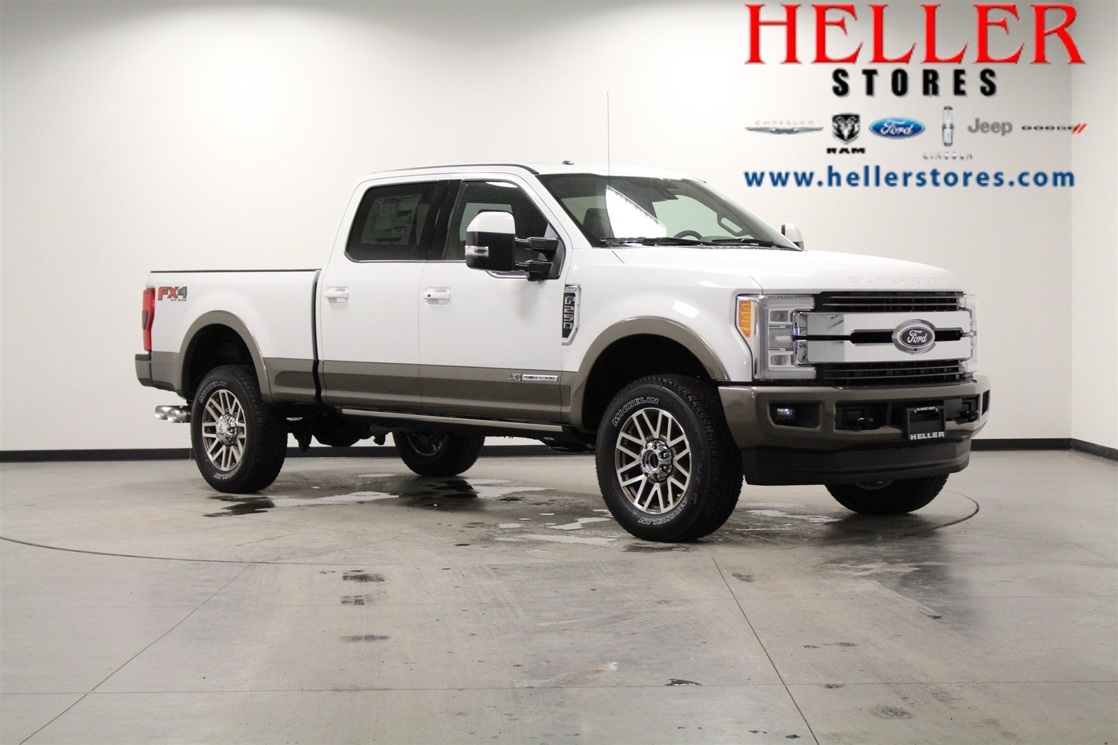 new 2018 ford f 250 super duty king ranch crew cab pickup in el paso 1800226 heller ford. Black Bedroom Furniture Sets. Home Design Ideas