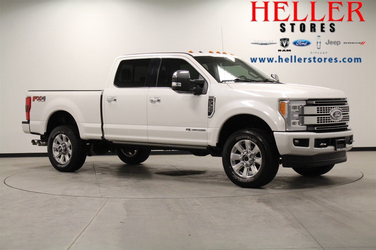 Pre-Owned 2017 Ford F-350 Super Duty Platinum