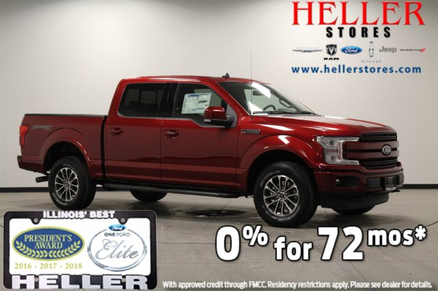 New 2019 Ford F-150 LARIAT 4WD Crew Cab Pickup