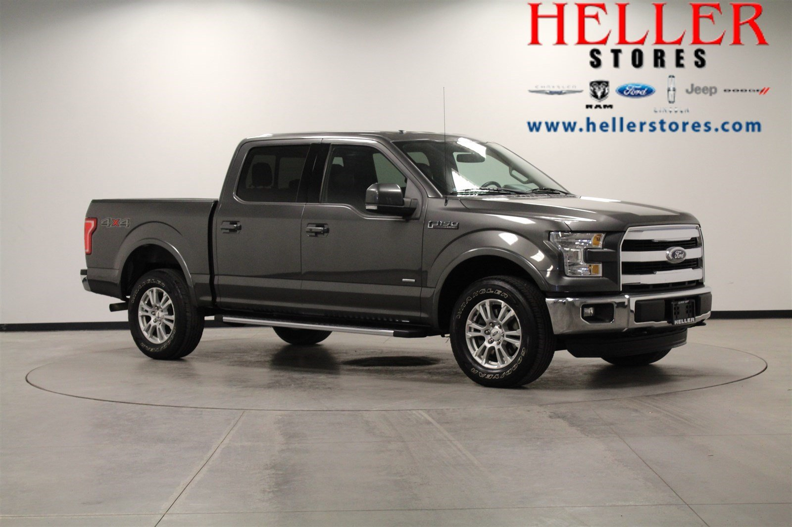 2015 Ford F 150 Regular Cab >> Pre Owned 2015 Ford F 150 Lariat In El Paso 1900292a Heller Ford