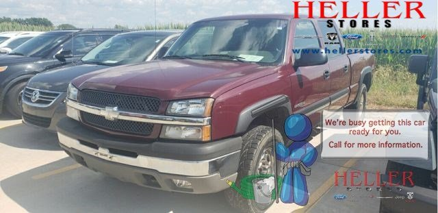 Pre-Owned 2003 Chevrolet Silverado 1500HD LS