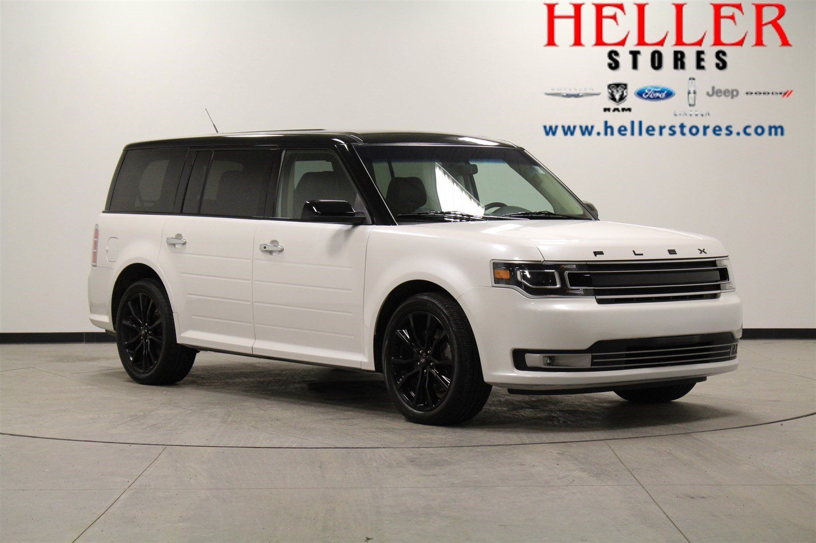 pre-owned 2017 ford flex limited in el paso #u17274 | heller ford