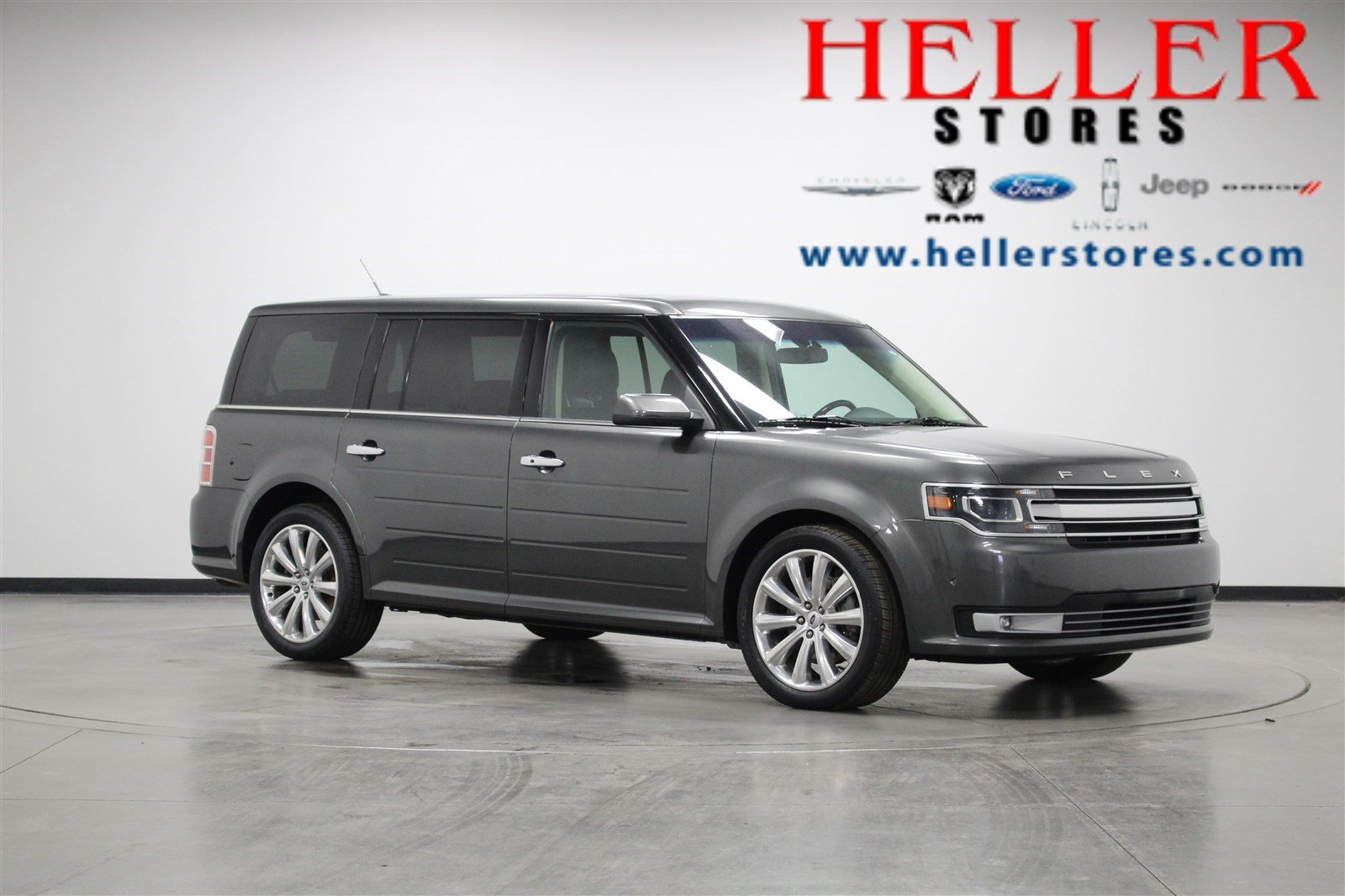 pre-owned 2017 ford flex limited ecoboost in el paso #u6347 | heller