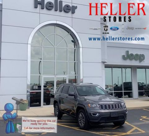 Pre-Owned 2020 Jeep Grand Cherokee Laredo E