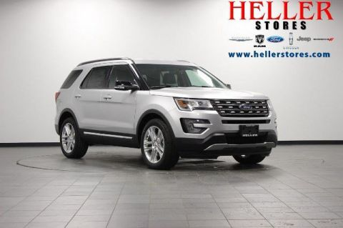 New 2017 Ford Explorer XLT With Navigation