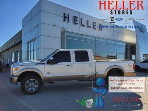 Pre-Owned 2012 Ford F-350 Super Duty King Ranch