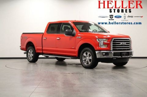 Heller Ford El Paso Il >> Pre-Owned 2016 Ford F-150 XLT in El Paso #U16699 | Heller Ford