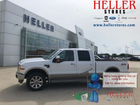 Pre-Owned 2008 Ford F-250 Super Duty King Ranch