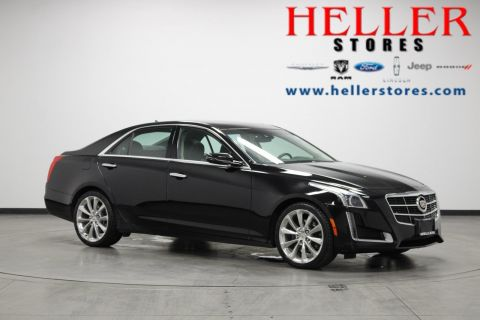 Pre-Owned 2014 Cadillac CTS Sedan Luxury AWD