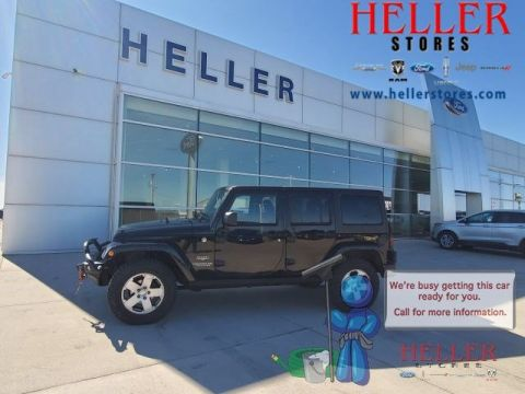 Pre-Owned 2011 Jeep Wrangler Unlimited Sahara
