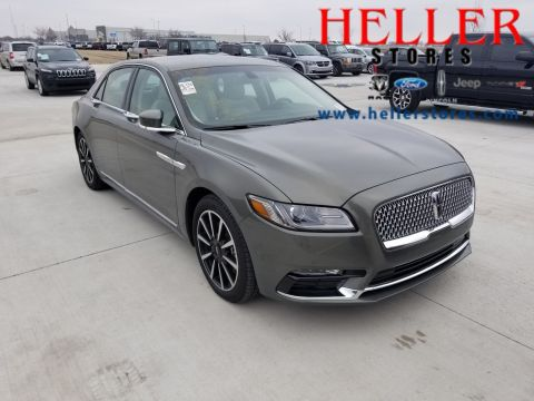 Heller Ford El Paso Il >> Pre-Owned 2017 Lincoln Continental Black Label 4dr Car in ...