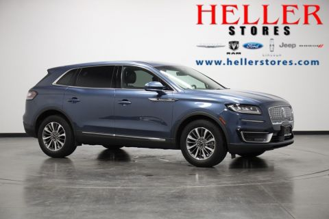 Pre-Owned 2019 Lincoln Nautilus Select