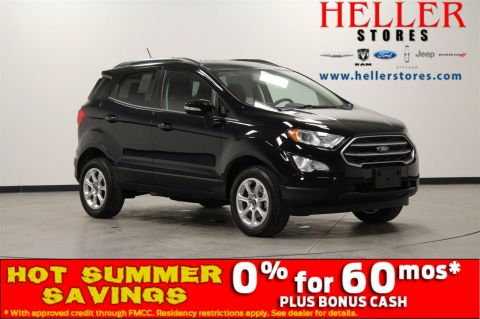 New 2018 Ford EcoSport SE With Navigation & 4WD